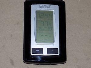 La Crosse WS-9245U-IT Wireless Thermometer Inside Outside Digital Clock