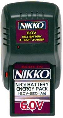 Nikko 6v Nicd Battery Amp Charger