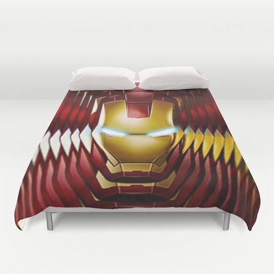 COOL IRON MAN  DUVET COVERS for KING SIZE 1KgS5oV