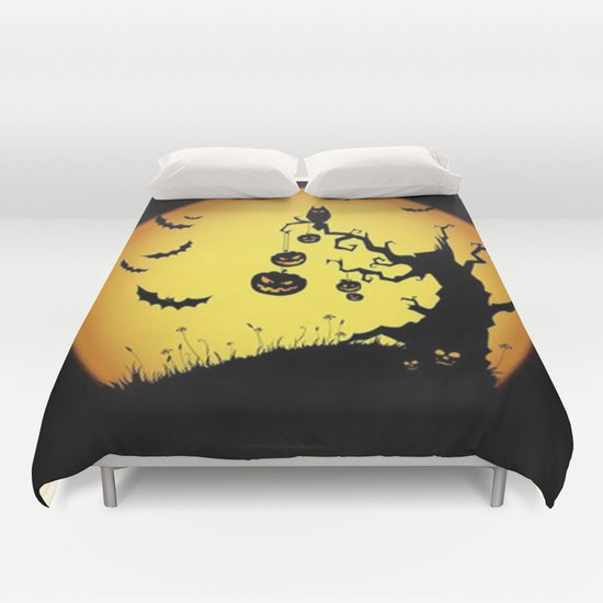 SCARY HALLOWEEN DUVET COVERS for KING SIZE 1Oh13pP