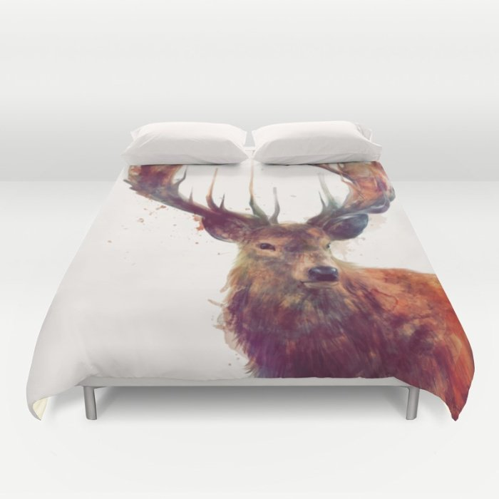 RED DEER  DUVET COVERS for QUEEN SIZE 1TE5DQR