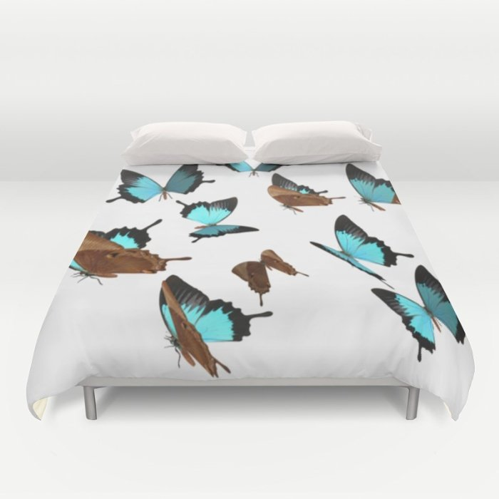 DUVET COVERS butterfly  for KING SIZE 1XCwBdp