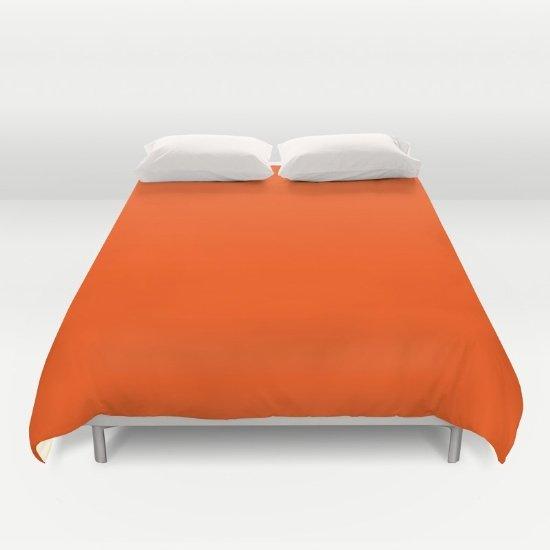 Orange DUVET COVERS for QUEEN SIZE 2g2Q458
