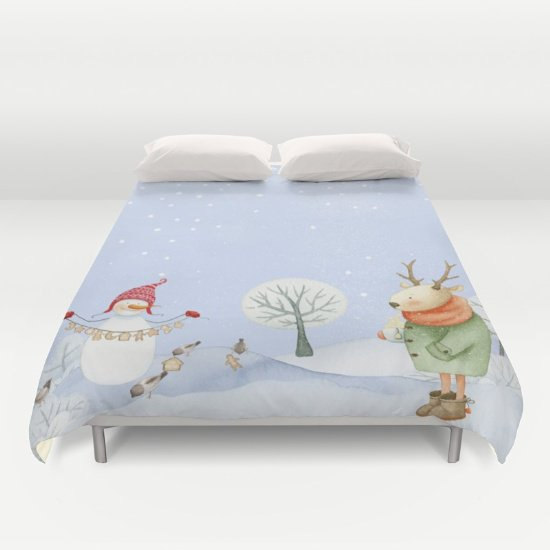 Christmas DUVET COVERS for QUEEN SIZE 2ggG7E8