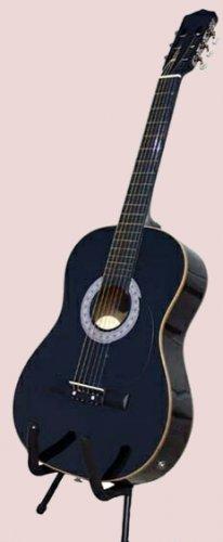 ACOUSTIC ELECTRIC Guitar w/ EQ, Black