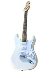 Electric Guitar, White