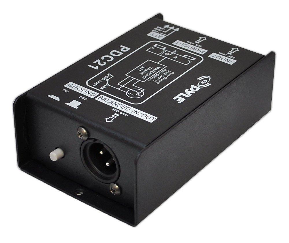 Pyle-Pro 1/4 Instrument To Balanced & Unbalanced Direct Box