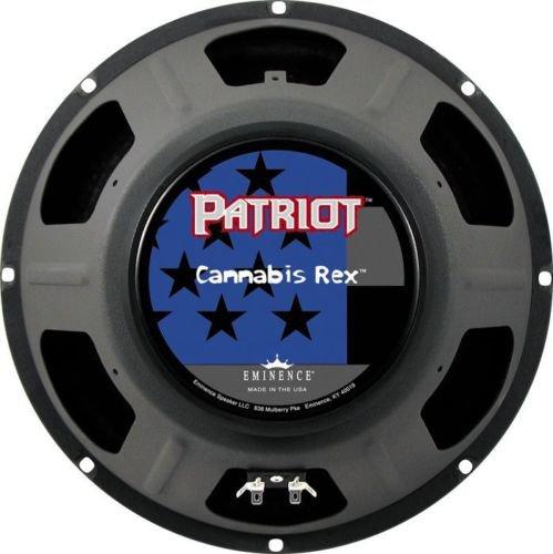 "Eminence Patriot Cannabis Rex 8 ohm 12"" 50W Guitar Speaker"