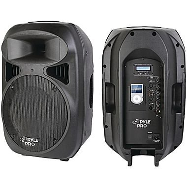 2-Way Full-Range Powered Loud Speaker System with Built-in iPod® Dock