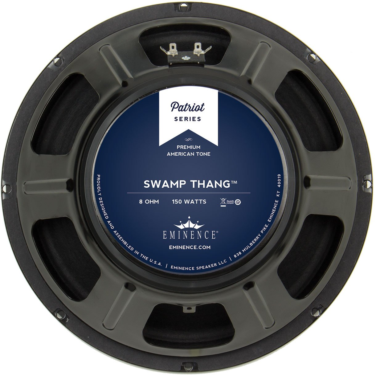 "Eminence Patriot Swamp Thang 12"" Guitar Speaker 150W 8 Ohm"
