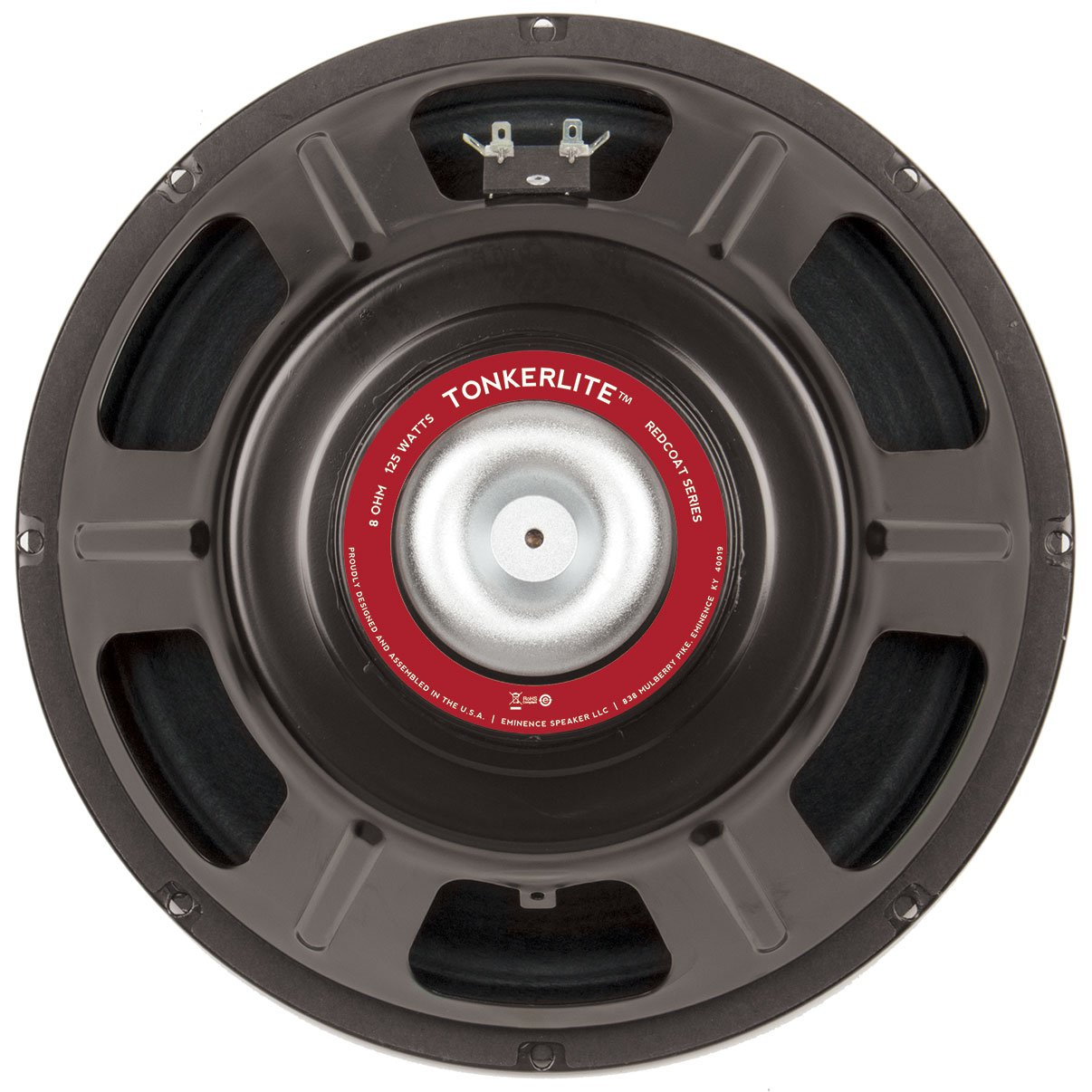 "Eminence Red Coat Tonkerlite Neo 12"" Guitar Speaker 125W 8 Ohm"
