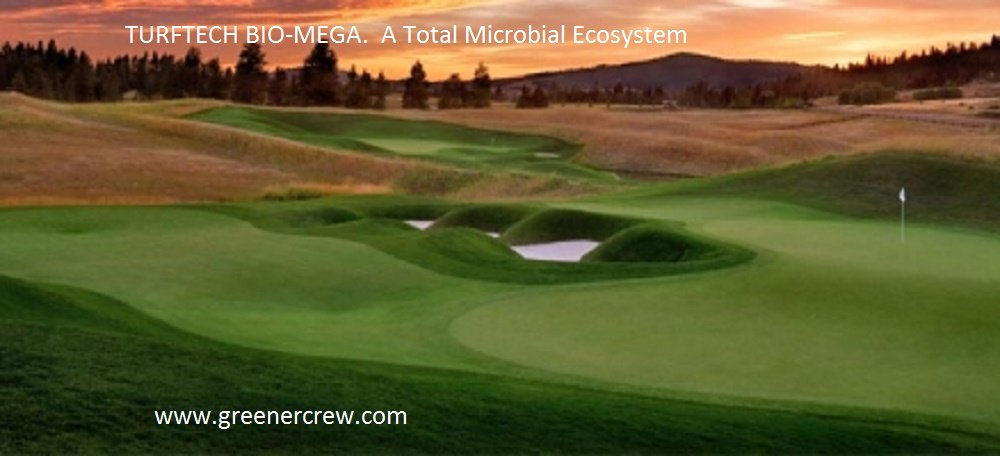 TURFTECH BIO-MEGA Organic. A Total Microbial Ecosystem 8 lbs