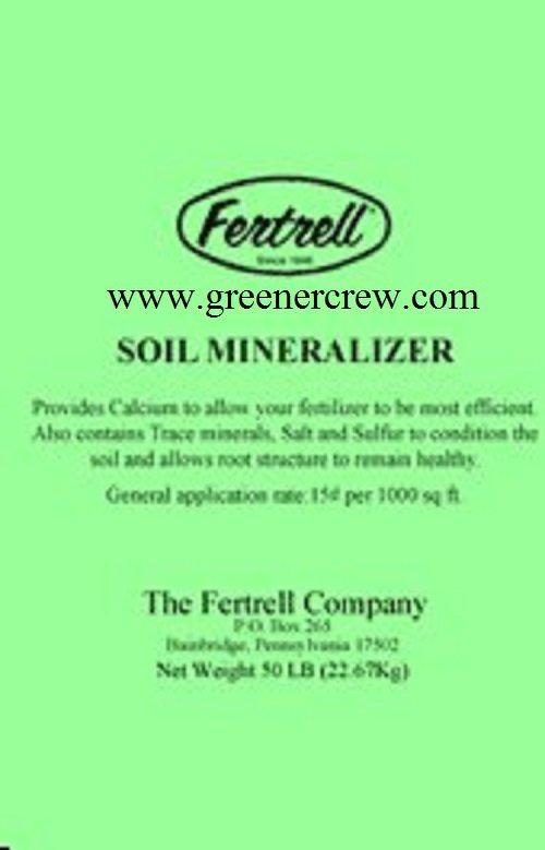 Turfgrass Organic Soil Mineralizer 50 Lbs