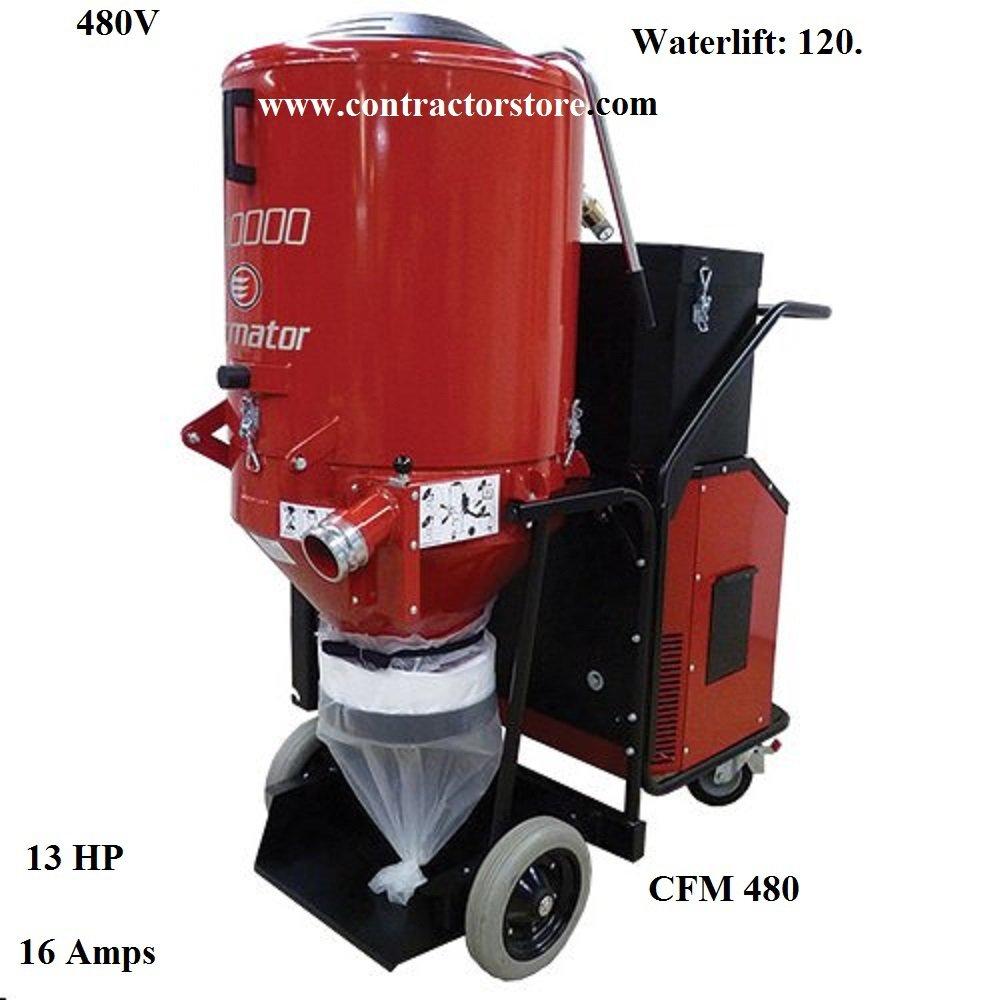 Industrial Dust Extractor HEPA 480V