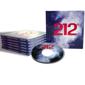 212 The Extra Degree Hardcover w/ Free DVD