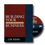 Building Your Network Marketing Business 5 CDs Jim Rohn