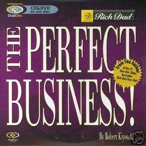 The Perfect Business CD/DVD 20 pack MLM Robert Kiyosaki