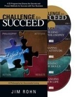 The Challenge to Succeed Audio and Workbook by Jim Rohn