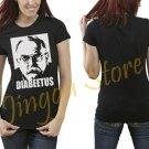 Diabeetus Wilford Brimley Meme Women's Black T Shirt