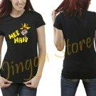 Hee Haw Cartoon Women's Black T Shirt