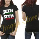 Jedi In The Streets Sith In The Sheets Movie Funny Women's Black T Shirt