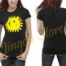 Shining Doge Women's Black T Shirt