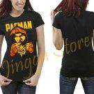 Manny Pacquiao PACMAN Women's Black T Shirt