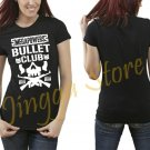 Megapowers X Bullet Club Logo Women's Black T Shirt