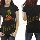 Powerline Women's Black T Shirt