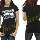 Ramones Band Legend Women's Black T Shirt
