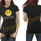 Silence Is Golden Duct Tape Is Silver Women's Black T Shirt
