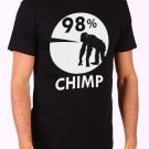 98 Chimp Men's Black T Shirt