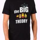 Big Bang Minions Men's Black T Shirt