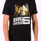 Big Hero 6 Movie Men's Black T Shirt
