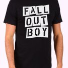 fall out boy Men's Black T Shirt