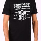 Fantasy Football Men's Black T Shirt
