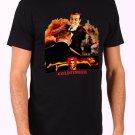 Goldfinger Bond 007 retro 70's 80's Men's Black T Shirt