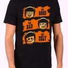 Good Cop, Bad Cop, Ugly Cop LEGO Men's Black T Shirt