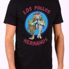Los Pollos Hermanos Men's Black T Shirt