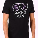 Macho Man Randy Savage Men's Black T Shirt