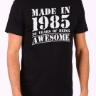 Made in 1985, 30 years of being Awesome Men's Black T Shirt