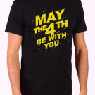 May The 4th Be With You Men's Black T Shirt