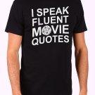 Movie Quotes Men's Black T Shirt