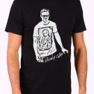 New Rare Macaulay Culkin Ryan Gosling Men's Black T Shirt