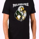 Philadelphia Eagles Mascot NFL Men's Black T Shirt