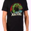 The Man-Thing Marvel Comics The Thing Hulk Howard Men's Black T Shirt