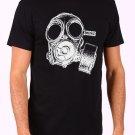 Vintage Gas Mask Men's Black T Shirt
