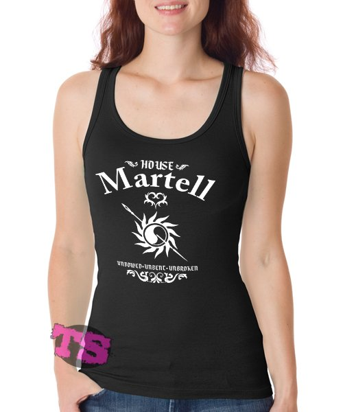 House of Martell thrones Game Women's Tank Tops