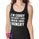 Hungry Apology Women's Tank Tops
