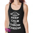 Keep Calm and Throw Cheese Women's Tank Tops